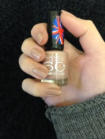 rimmel nailpolish tan nude