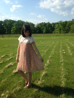 floral and lace dress 6
