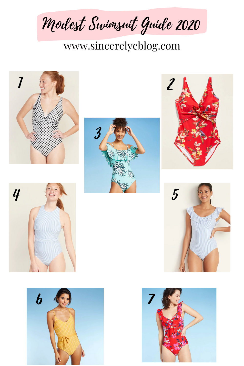 Modest Swimsuit Guide 2020